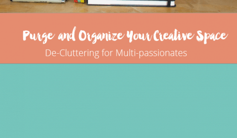 Purge & Organize Your Creative Space