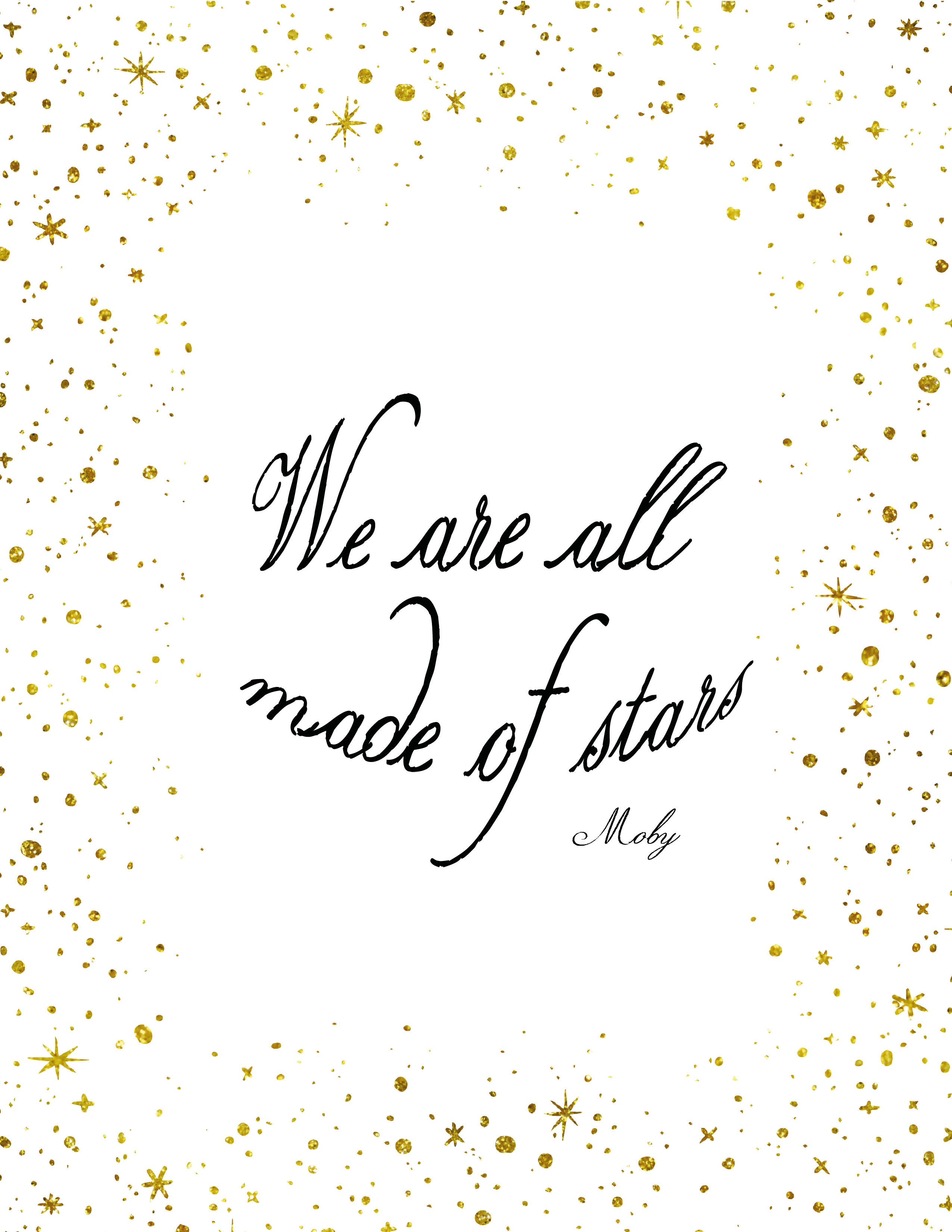 Made of Stars Printable Kit